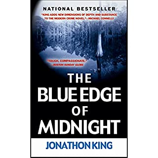 The Blue Edge of Midnight audiobook cover art