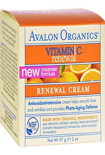 Avalon Active Organics Vitamine C Verzorgende gezichtscrème, 60 ml