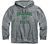 Ivysport Colorado State University Rams Hooded Sweatshirt, Heritage, Charcoal Grey, Medium