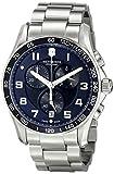 Victorinox 241652 - Reloj de Pulsera Hombre, Acero Inoxidable, Color Plata