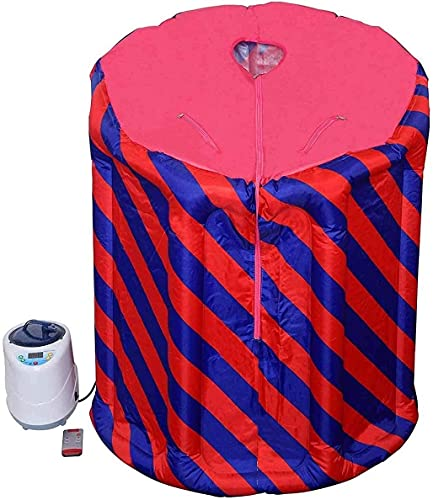 YZJL Sauna de Vapor portátil Kit de Tienda de campaña Inflable Máquina de Vapor Calentador Silla Plegable Moldeadora de Cuerpo Pérdida de Peso SaunaVaporizador de Sauna Personal