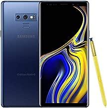 Samsung Galaxy Note 9 SM-N960U 128GB Ocean Blue - Verizon (Renewed)