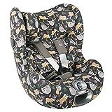 Cybex Sirona Z - Funda para portabebés gris perezoso, ajuste perfecto, algodón Öko-Tex, absorbe el s...
