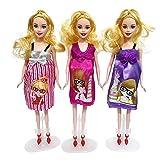 Chen0-super Poupée Enceinte Maman, poupée Enceinte Costume Maman poupée et Robe - Avoir Un bébé dans Son Ventre pour Barbie - poupées avec des Tenues Filles Faire Semblant de Jouer Jouet Cadeaux