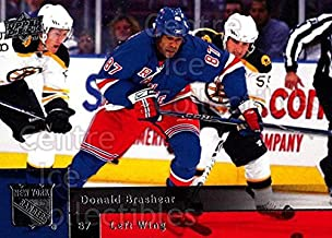 (CI) Donald Brashear Hockey Card 2009-10 Upper Deck (base) 316 Donald Brashear