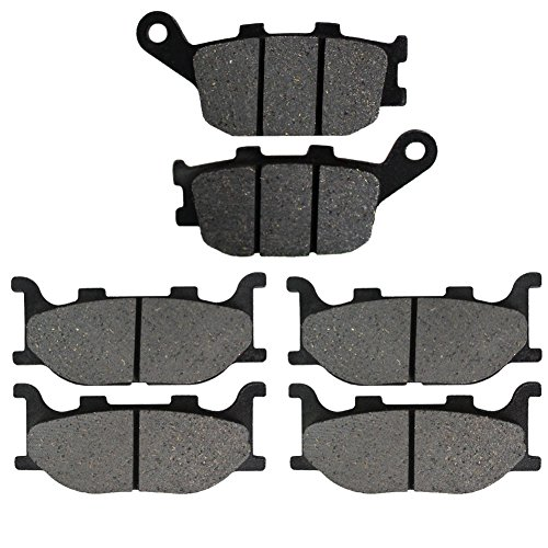 Road Passion Brake Pads Front and Rear for YAMAHA FZ6 NS Naked Non ABS 2 Piston Caliper 2005-2006/FZ6 FZ 600 SS/ST/SV 2 Piston Caliper 2004-2006