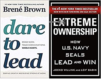 By [Brené Brown,Jocko Willink] Dare to Lead Extreme Ownership 2 Books Set Paperback  2019