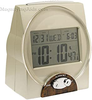 Talking Time, Month and Date Alarm Clock