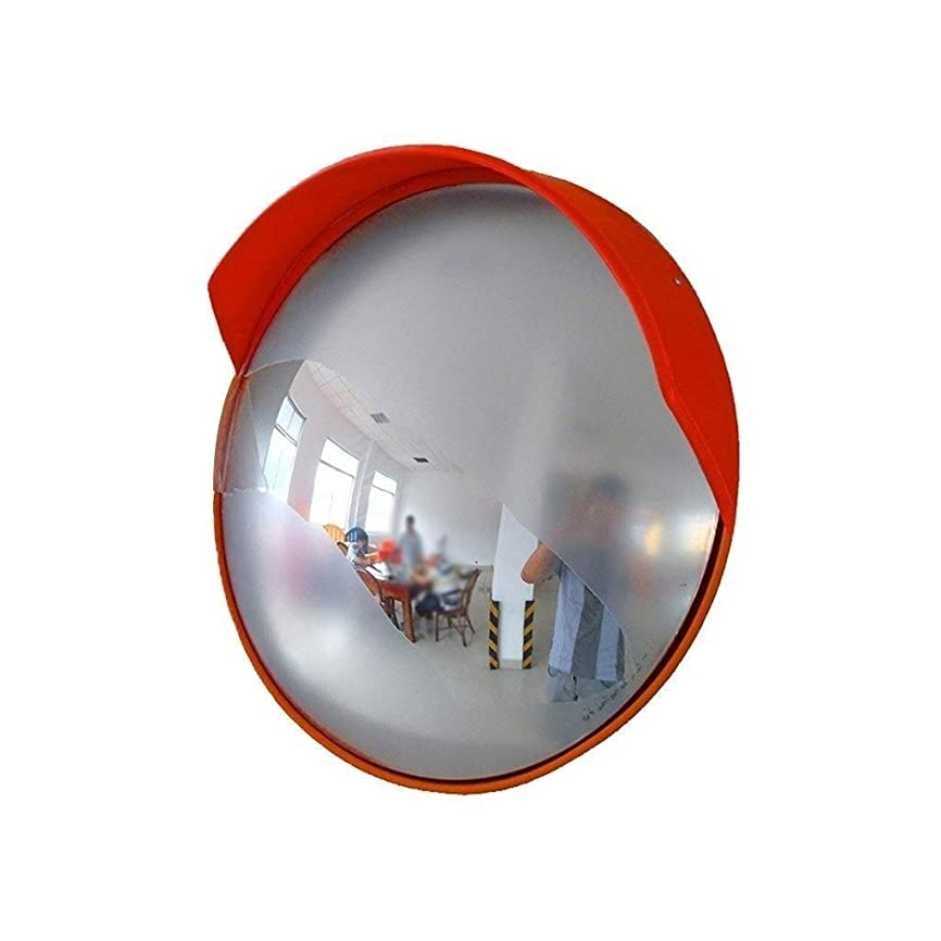 司法代理店うまくやる()ヒグhwayトラフィックミラー、大型プラスチック広角レンズ屋外ストリートセーフティミラークロスロードカーターニングミラー直径:80CM(サイズ:80CM)