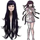 Cf-fashion Danganronpa Mikan Tsumiki Cosplay Wig Costume Dark Purple + Free Wig Cap