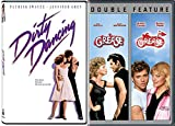 Grease Musical 1 & 2 + Dirty Dancing Triple Feature Movie Set Starring John Travolta / Patrick Swayze