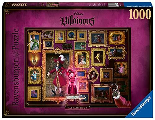 Ravensburger Puzzle 15022 - Villainous: Captain Hook - 1000 Teile