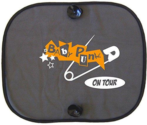 Baby Punk on Tour Protection solaire Auto pour Enfants