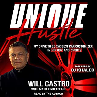 Unique Hustle audiobook cover art