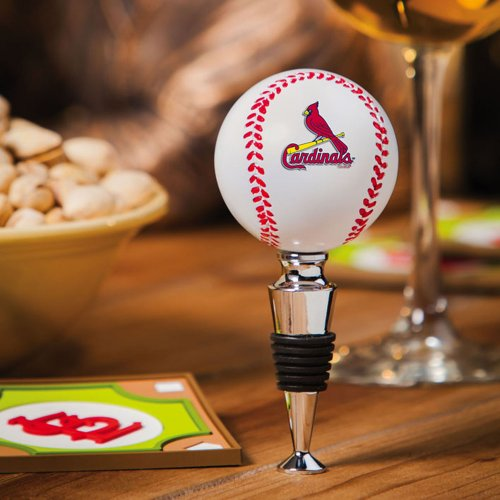 Evergreen Enterprises EG3WS4225 St. Louis Cardinals Baseball Wine Bottle Stopper