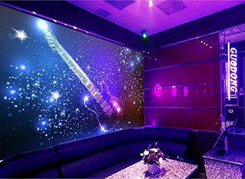 Mznm 3D Wallpaper Custom 3D Muurschilderingen Behang Vector Decoratieve achtergrond op de viool 120 x 100 cm.