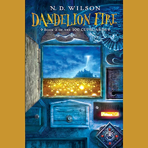 Dandelion Fire  audiobook cover art