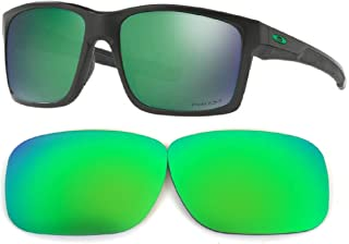 Galaxy Replacement Lenses For Oakley Mainlink Sunglasses Polarized Green 100% UVAB