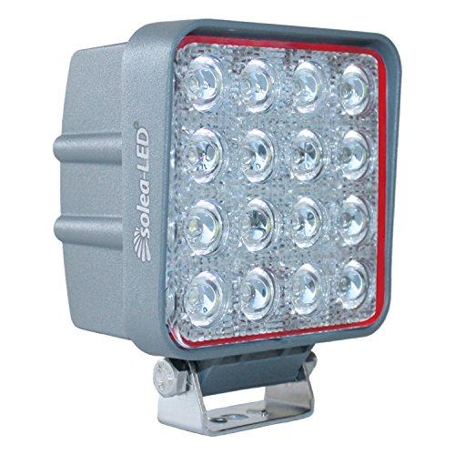 Solea-LED 191050 Arbeitsscheinwerfer 3600er Typ 3617D, Grau [Energieklasse A++]