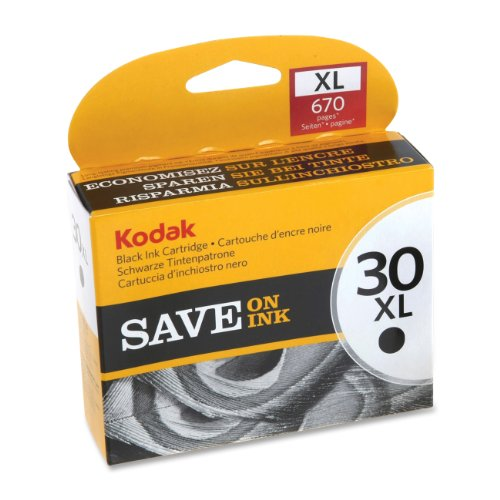 Kodak 30B/XL Ink Cartridge - Black - 1 Year Limited Warranty