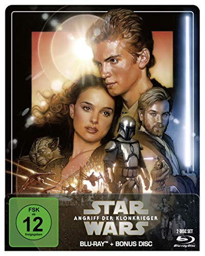 Star Wars: Episode II - Angriff der Klonkrieger- Steelbook Edition [Blu-ray]