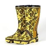 [キャプテンスタッグ] 作業靴 長靴 レインブーツ 3E 軽量 ゴム底 CS-1 カモフラ (LLサイズ(27.0-27.5cm))