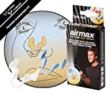 Airmax - Dilatateur contre la congestion nasale - Plus le dbit d'air par le nez! - New Transparent Version Sport - Pack d'essai (Small & Medium)