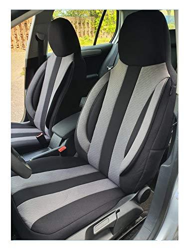 Coprisedili compatibili con Land Rover Range Rover Evoque 2 conducente e passeggeri dal 2019, codice colore: MD501