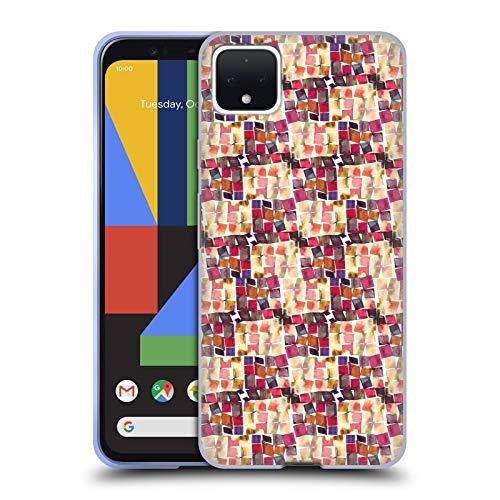 Officiële Ninola Minimale haak Patronen Soft Gel Case Compatibel voor Google Pixel 4 XL