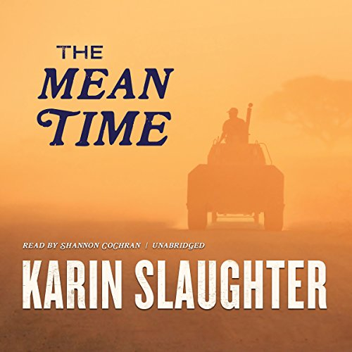 The Mean Time audiobook cover art