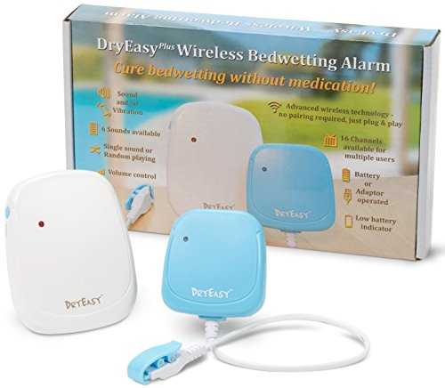 New DryEasy Plus Wireless Bedwetting Alarm
