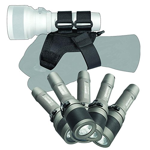 Mares - just add water - Soft Goodman Handle 415180, Hand- und Taschenlampenhalterung- Größenverstellbar, Stainless steel D-Ring