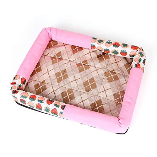 IAOHUO Dog House Pet Mat hundmatta hundmatta sommar kennel kattsand Teddy Golden retriever hundbädd vår sommar höst och vinter säsong fuktmatta, hundbädd matta Cat Puppy Co