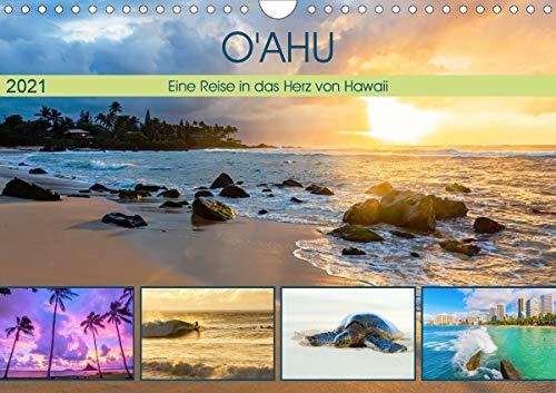 O'ahu - Eine Reise in das Herz von Hawaii (Wandkalender 2021 DIN A4 quer)