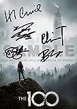The 100 TV Show Print cast Eliza Taylor, Bob Morley, Marie Avgeropoulos, Devon Bostick, Henry Ian Cusick (11.7' x 8.3')