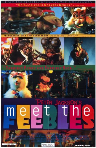 Meet The Feebles Movie Poster (27,94 x 43,18 cm)