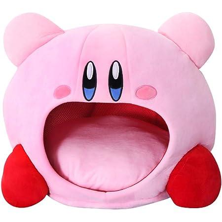 [TaiShan] ぬいぐるみ ソフト スタイリッシュな シンプルさ 睡眠枕 キャップ かわいい アニメカービィゲームソフトクッションソ フトペット ハウス 人形 誕生日のおもちゃ (ピンク)