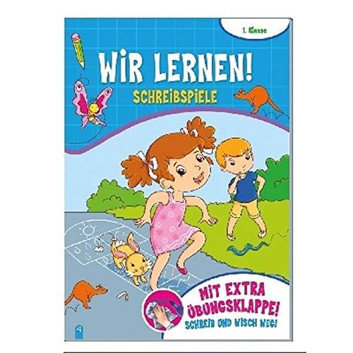 Trötsch Wir lernen! Schreibspiele: Übungsheft Lernheft Grundschule (Schreib und Wisch Weg Lernhefte)