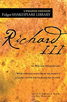 Richard III (Folger Shakespeare Library) by [William Shakespeare, Dr. Barbara A. Mowat, Paul Werstine]