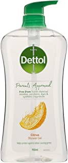 Dettol (DETTV) Dettol Parents Approved Shower Gel Citrus 950ml, 950 milliliters
