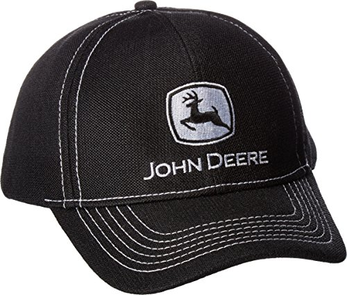 John Deere Men's Diamond Poly Mesh Embroidered Logo