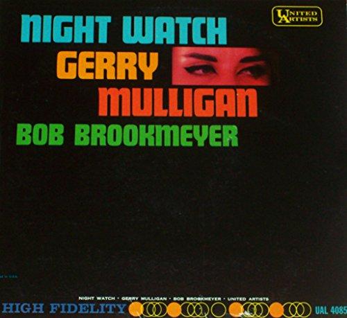 GERRY MULLIGAN / BOB BROOKMEYER Night Watch LP original 1st pressing 1961 jazz United Artists UAL 4085 mono dg Near Mint