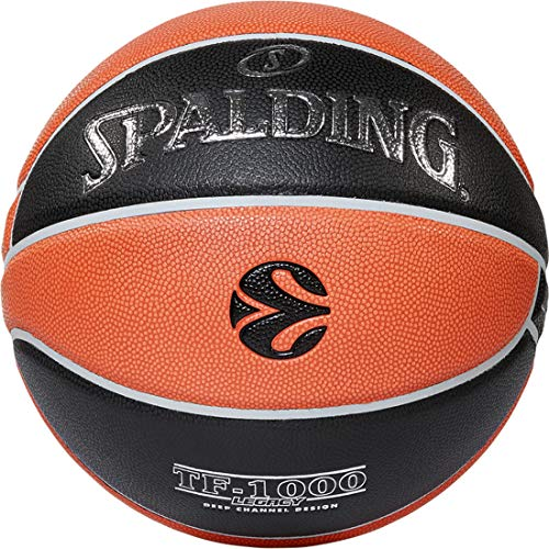 Euroleague Tf 1000 Legacy Spalding Basketball Ball ; 84004Z_7 ; orange ,Black