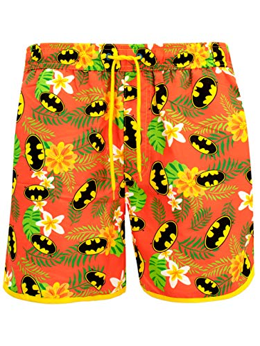 DC Comics Herren Batman Badeshorts Mehrfarbig Medium