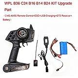 Ferngesteuertes Auto,TwoCC Upgrade Teil Elektronik Ausrüstung Set für WPL KIT B36 C24 B16 B14 B24