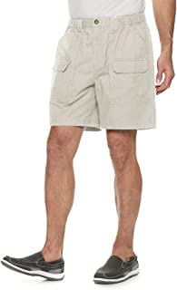 Croft & Barrow Men's Classic-Fit Side-Elastic 7.5-inch Cargo Shorts