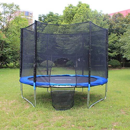 WBXZAL Garden Trampoline Ø1.83M, Garden Trampoline for Kids, Blue Outdoor Trampoline, Trampoline Protective Net Anti-Fall Jumping Pad Safety Net Protection Guard