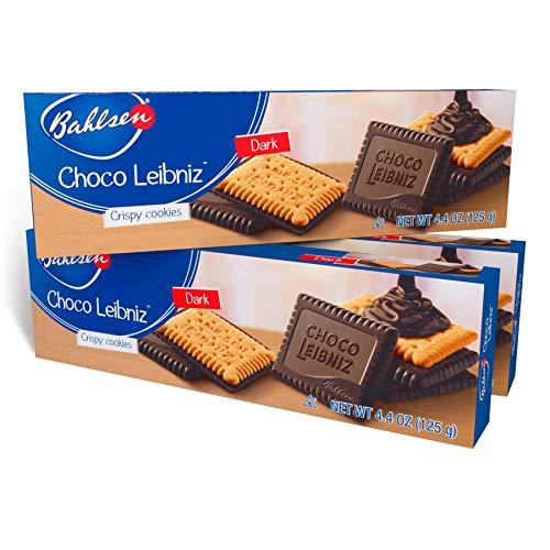 Bahlsen Choco Leibniz Dark Cookies (3 boxes) - Leibniz Butter Biscuits...