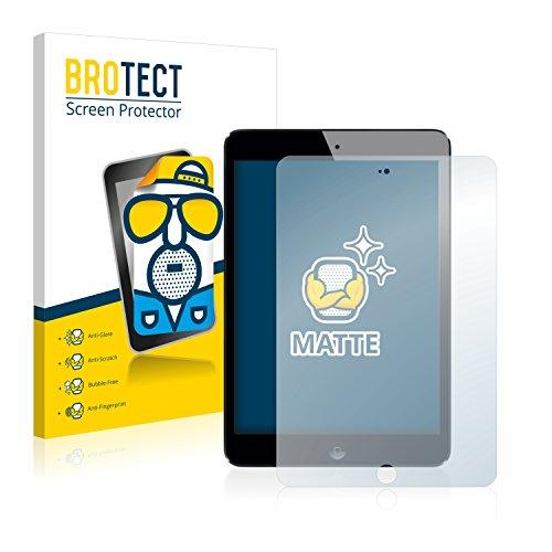 BROTECT 2X Entspiegelungs-Schutzfolie kompatibel mit Apple iPad Mini 3 2014 Bildschirmschutz-Folie Matt, Anti-Reflex, Anti-Fingerprint