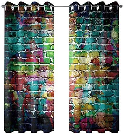 Colorful curtains for living room _image0